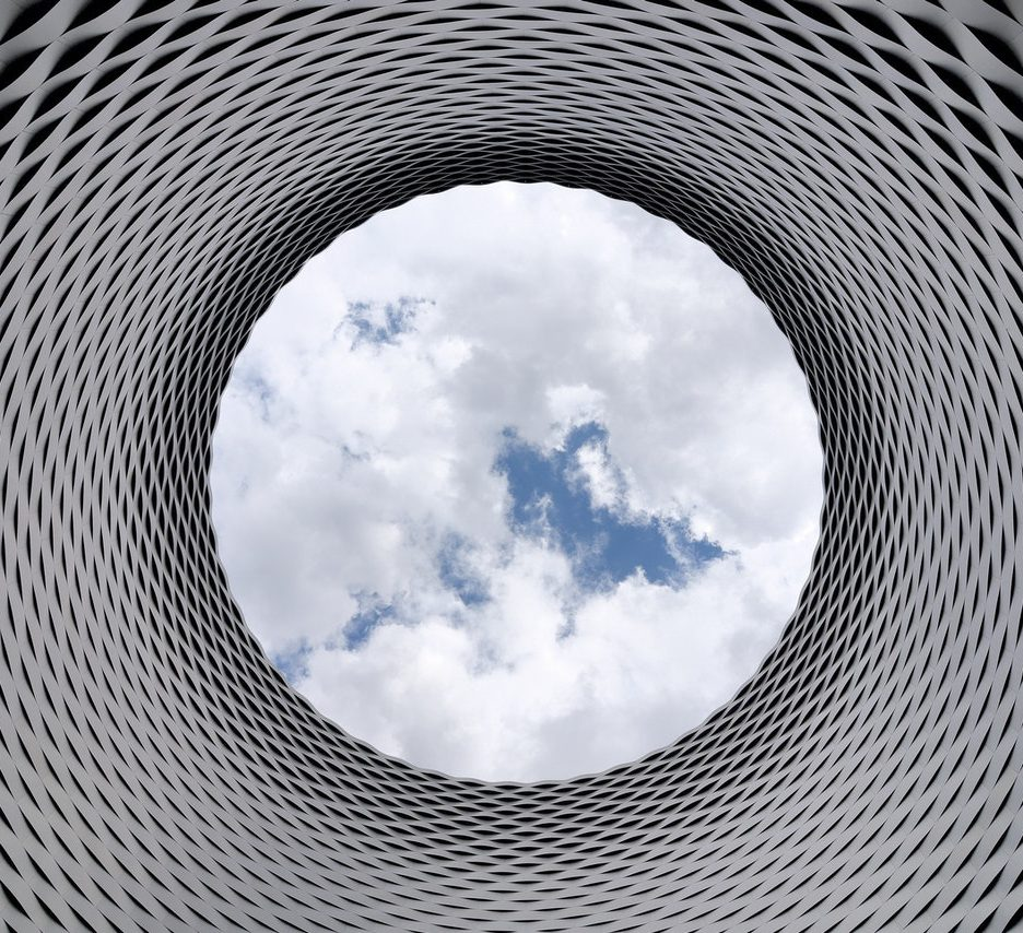 Aluminium modern architecture